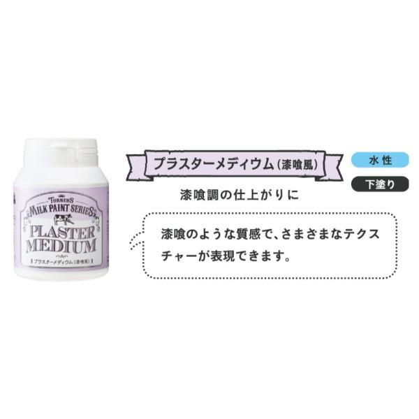 ミルクペイント プラスターメディウム 200ml ターナー色彩
