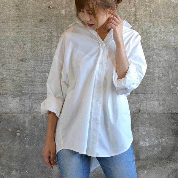ビッグシルエットシャツ ブラウス こなれ感 美シルエット|nuu|15