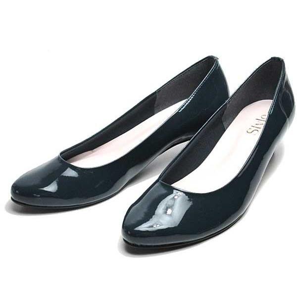 ジェリービーンズ JELLY BEANS アーモンドトゥエナメルパンプス レディース 靴|nws|04