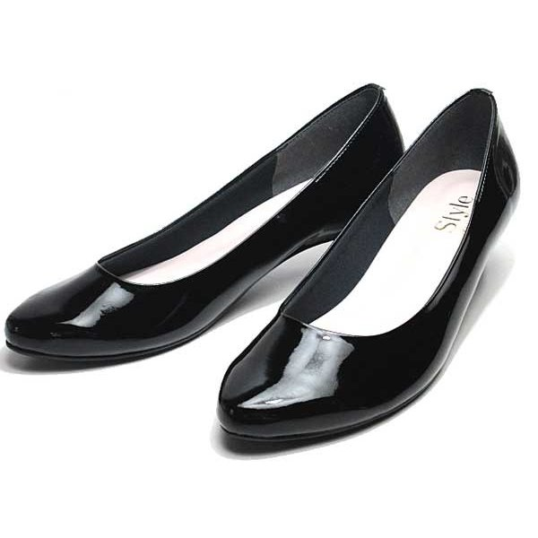 ジェリービーンズ JELLY BEANS アーモンドトゥエナメルパンプス レディース 靴|nws|05