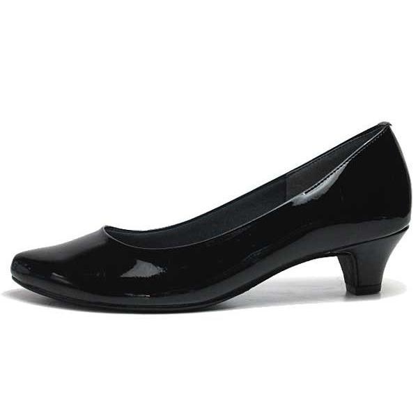 ジェリービーンズ JELLY BEANS アーモンドトゥエナメルパンプス レディース 靴|nws|06