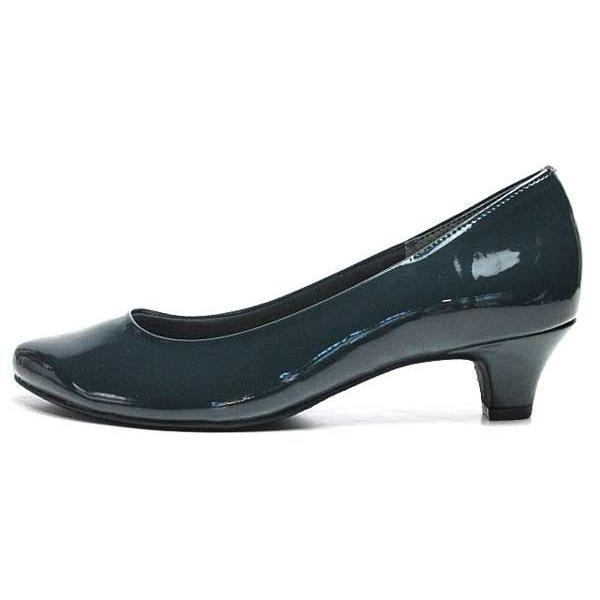 ジェリービーンズ JELLY BEANS アーモンドトゥエナメルパンプス レディース 靴|nws|07