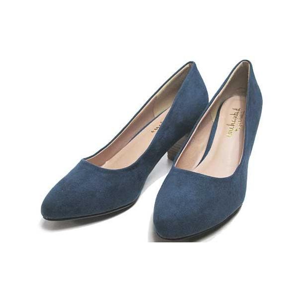 エンチャンテッド プリマ enchanted prima プレーンパンプス ネイビー レディース・靴