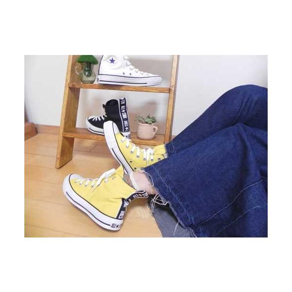 コンバース CONVERSE オールスター ロゴテープ HI スニーカー メンズ レディース 靴|nws|12