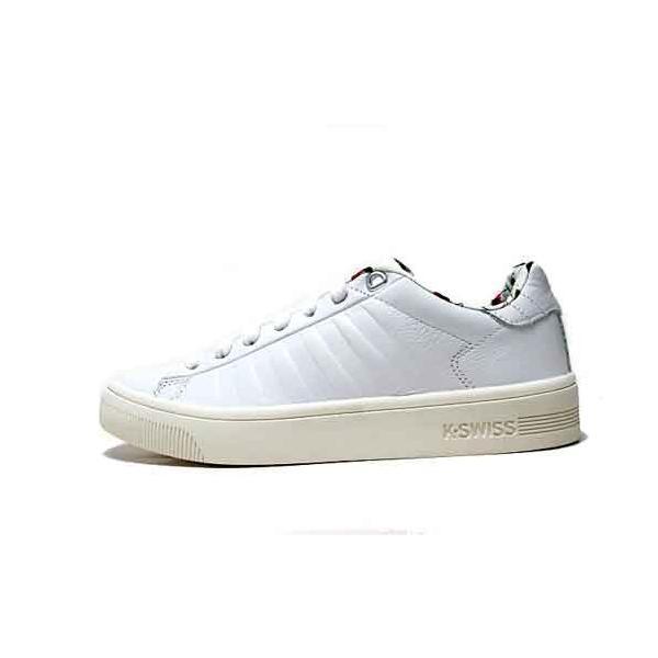 ケースイス K・SWISS コート フラスコ リバティー コートスタイル スニーカー ホワイト/マシュマロ レディース 靴 nws 05