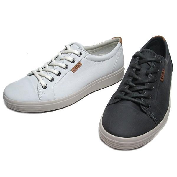 エコー ECCO SOFT7 Mens Sneaker レザースニーカー メンズ 靴|nws