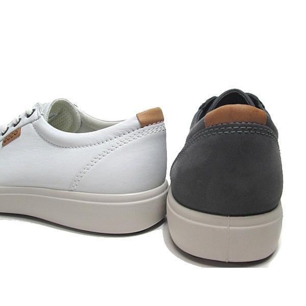 エコー ECCO SOFT7 Mens Sneaker レザースニーカー メンズ 靴|nws|02