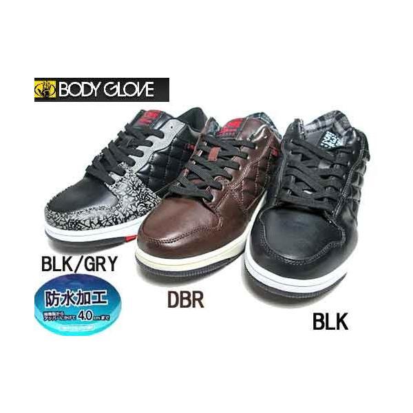 ボディグローブ BODY GLOVE スノトレ ローカット 防水防滑スニーカー メンズ 靴|nws