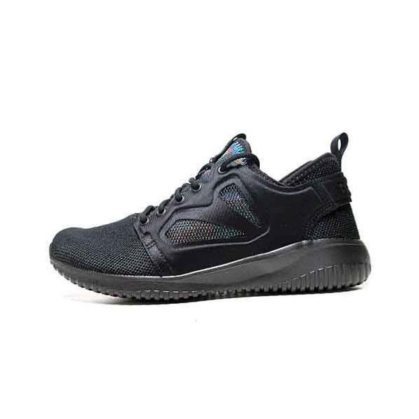 リーボック Reebok スカイクッシュ エヴォリューション LUX ウォーキングシューズ ブラック レディース 靴|nws|02