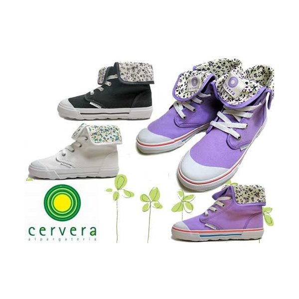 セルベーラ cervera BELEN ハイカットスニカー 2WAY仕様 レディース 靴