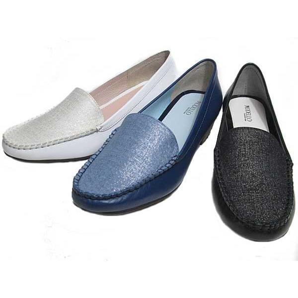 マドラスモデロ madras MODELLLO DML5050 モカスリッポン ヒールローファー レディース 靴|nws