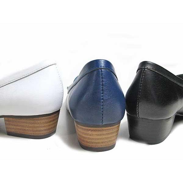 マドラスモデロ madras MODELLLO DML5050 モカスリッポン ヒールローファー レディース 靴|nws|02
