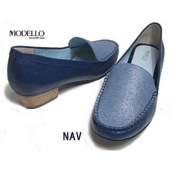 マドラスモデロ madras MODELLLO DML5050 モカスリッポン ヒールローファー レディース 靴|nws|05