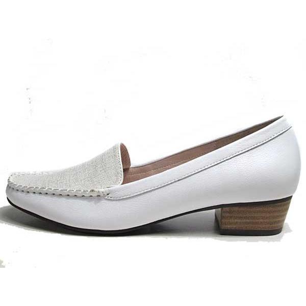 マドラスモデロ madras MODELLLO DML5050 モカスリッポン ヒールローファー レディース 靴|nws|08