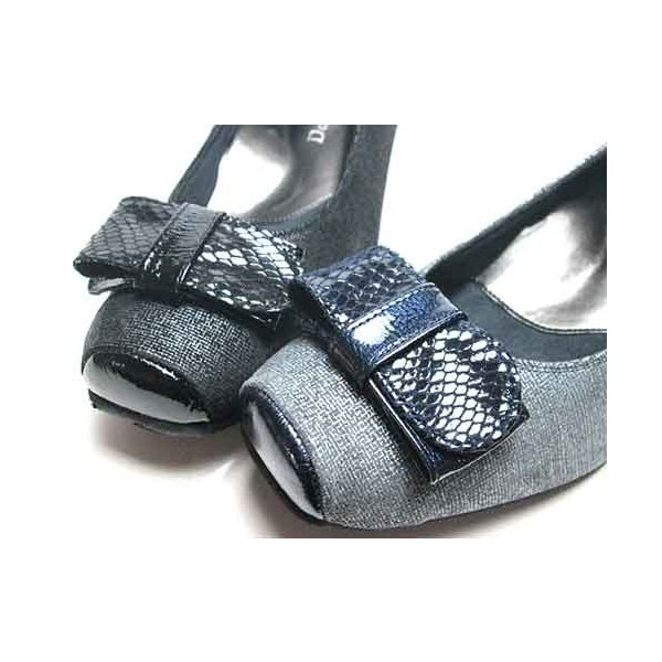 ドナミス  Dona Miss リボンデザインパンプス レディース・靴