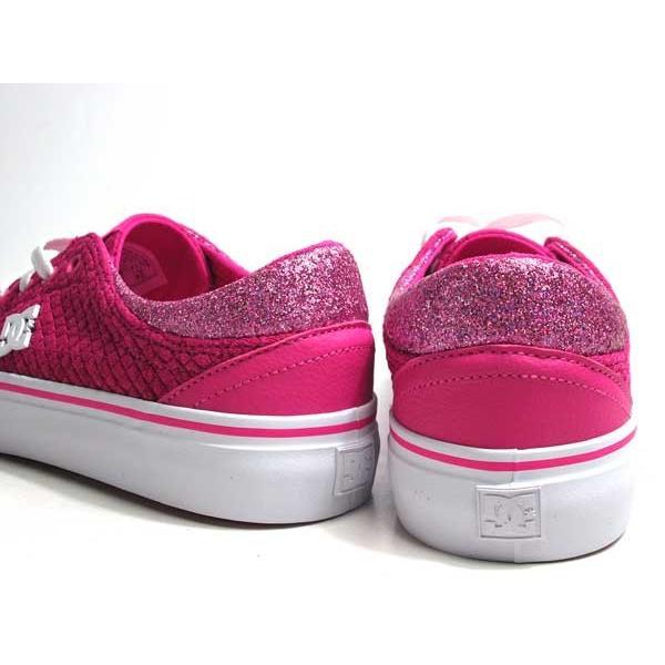 ディーシーシューズ DC SHOES W'S TRASE TX SE ピンクホワイト スニーカー レディース 靴|nws|02