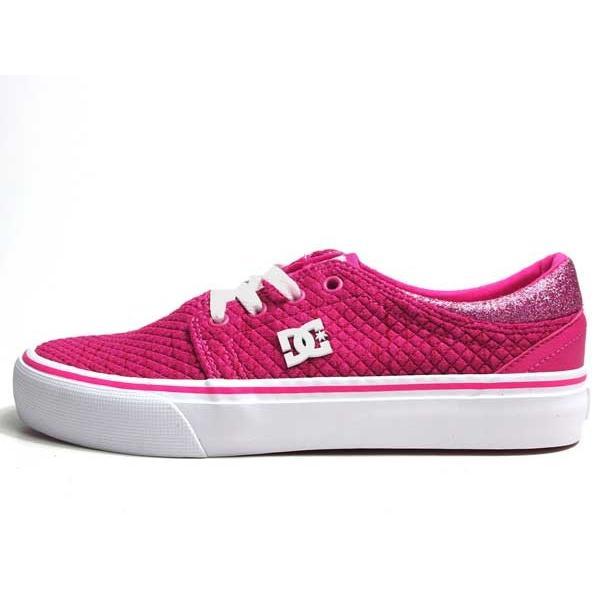 ディーシーシューズ DC SHOES W'S TRASE TX SE ピンクホワイト スニーカー レディース 靴|nws|04