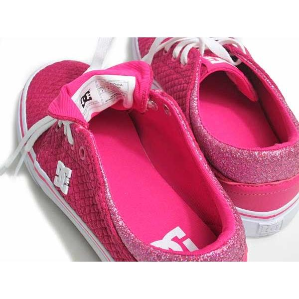 ディーシーシューズ DC SHOES W'S TRASE TX SE ピンクホワイト スニーカー レディース 靴|nws|05