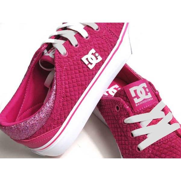ディーシーシューズ DC SHOES W'S TRASE TX SE ピンクホワイト スニーカー レディース 靴|nws|06