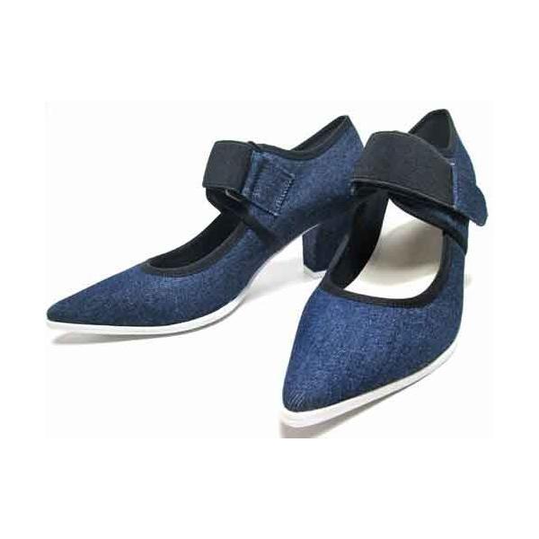 エンチャンテッド enchanted ベルクロチャンキーヒールパンプス レディース・靴