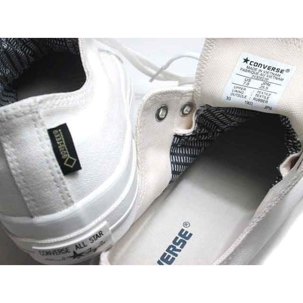 コンバース CONVERSEオールスター 100 ゴアテックス MN OX ALL STAR 100 GORE-TEX MN OX メンズ レディース 靴|nws|08