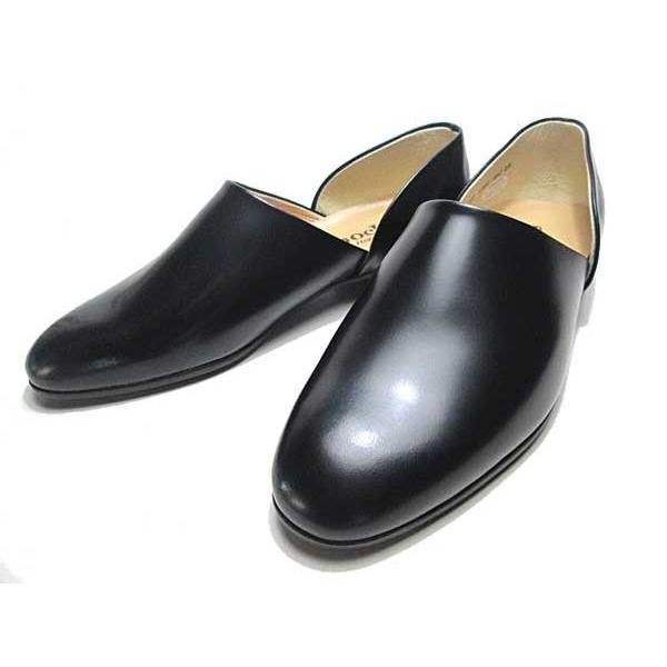 ハルタ HARUTA 850 スポックシューズ ドクターシューズ 黒 メンズ  靴|nws