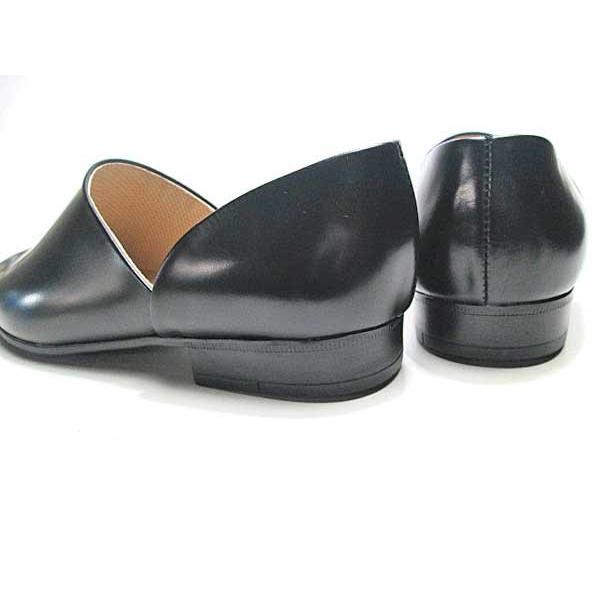 ハルタ HARUTA 850 スポックシューズ ドクターシューズ 黒 メンズ  靴|nws|02