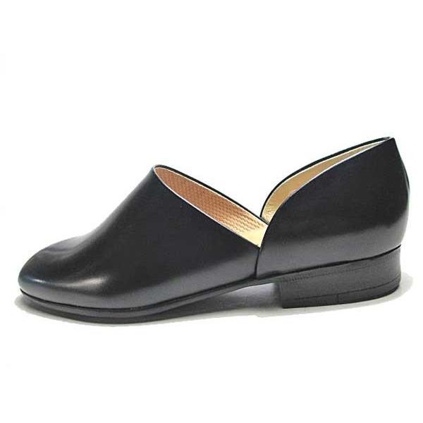 ハルタ HARUTA 850 スポックシューズ ドクターシューズ 黒 メンズ  靴|nws|04
