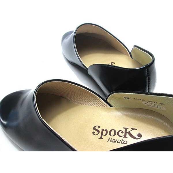 ハルタ HARUTA 850 スポックシューズ ドクターシューズ 黒 メンズ  靴|nws|05