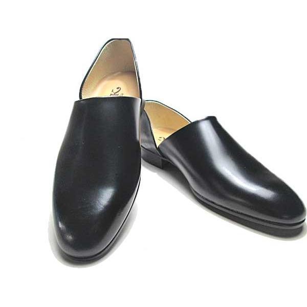 ハルタ HARUTA 850 スポックシューズ ドクターシューズ 黒 メンズ  靴|nws|06