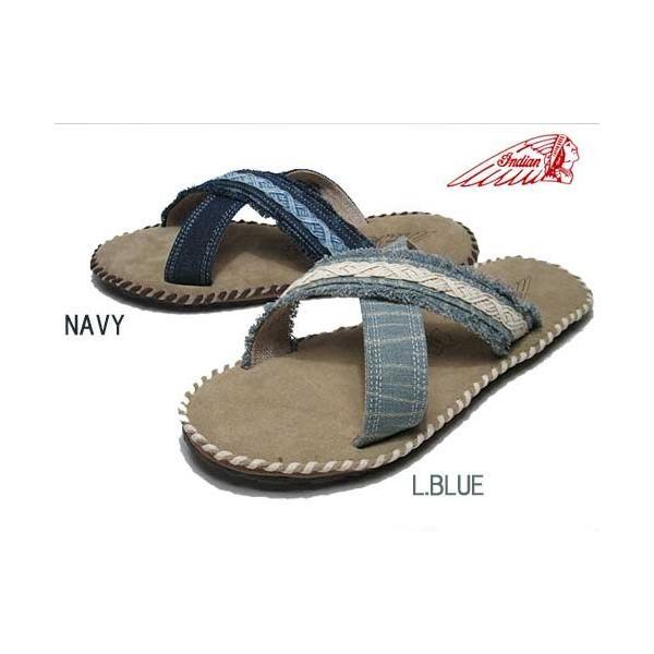 インディアン Indian ヘルム HELM X クロスベルトサンダル メンズ 靴|nws