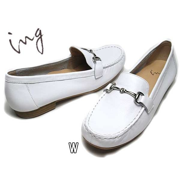 イング ing 5033 ワイズ 3E ビットローファー レディース 靴