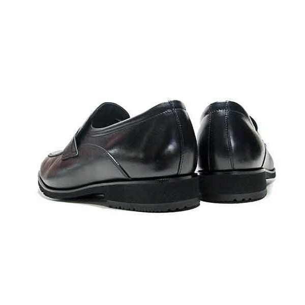 マドラスウォーク madras Walk ゴアテックスフットウェア スリッポン ビジネスシューズ ブラック メンズ 靴|nws|02