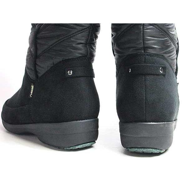 マドラスウォーク madras Walk ゴアテックス フットウェア ショートブーツ ブラック レディース 靴