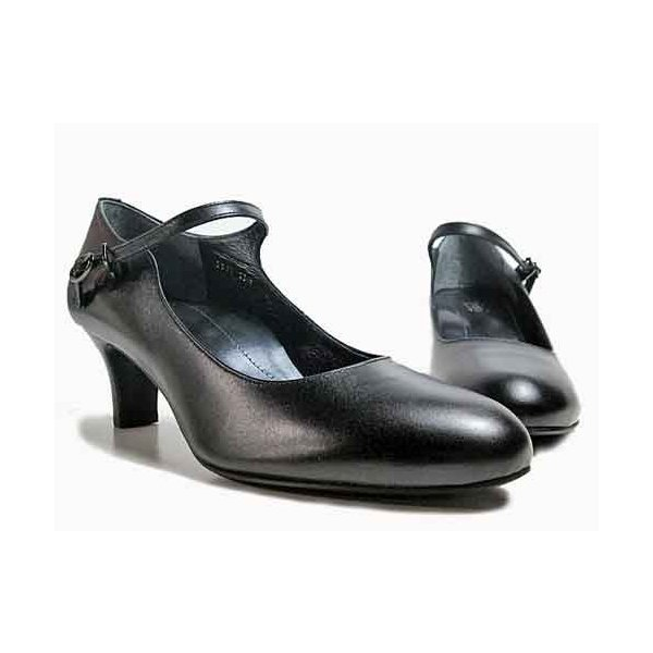 ピッティ Pitti ネックバンドパンプス ブラック レディース・靴