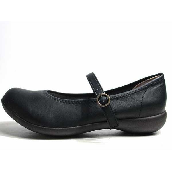 リゲッタ Re:getA R2361 コンフォートパンプス ストラップパンプス ブラック レディース 靴