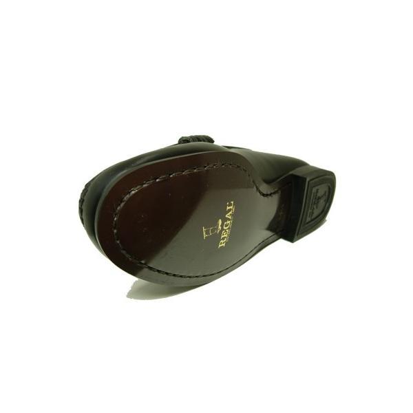 リーガル REGAL レディース ローファー 2414 AJEB ブラック・ブラウン 大きめサイズ