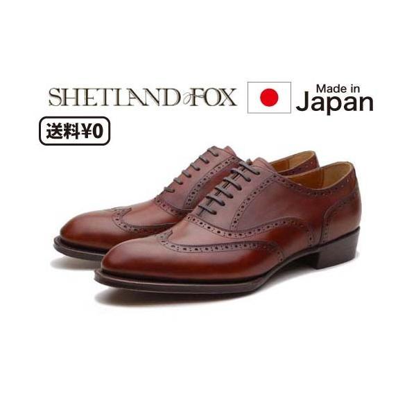 リーガル SHETLANDFOX シェットランドフォックス メンズビジネス ウィングチップ 012F SF nws