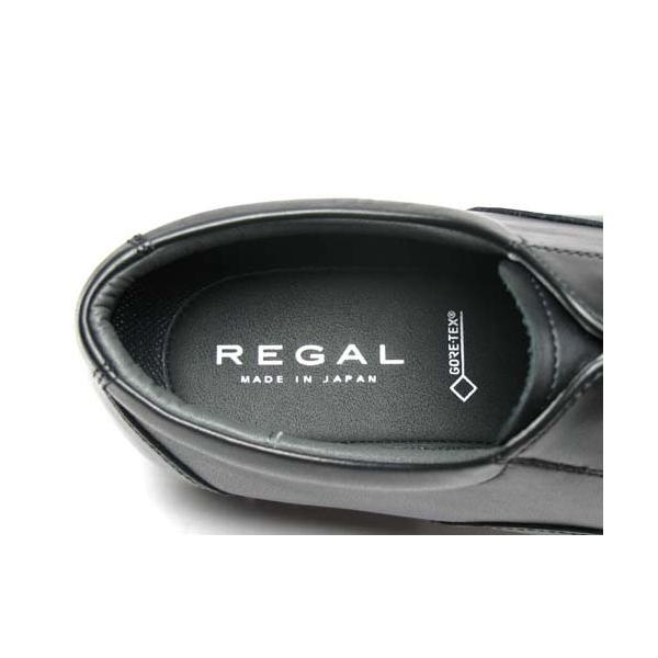 リーガル REGAL メンズビジネス ストレートチップ ゴアテックス防水 32NR BB ブラック 幅広ワイズ3E nws 05