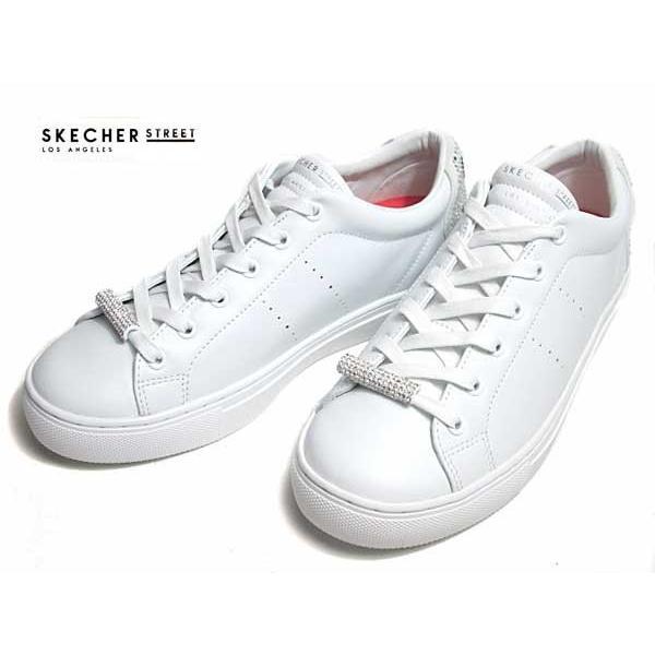 スケッチャーズ SKECHERS ウィメンズ Side Street - B Happy ホワイト レディース 靴|nws