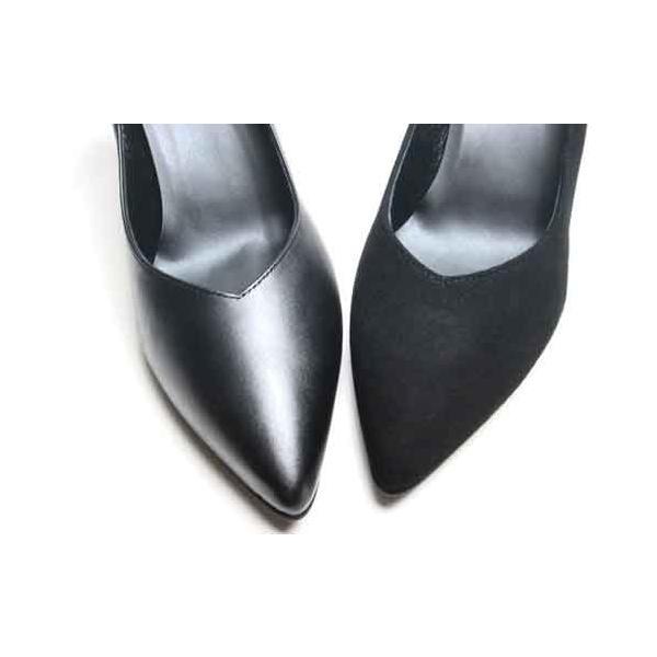 トラサルディ TRUSSARDI ポインテッドプレーンパンプス レディース・靴