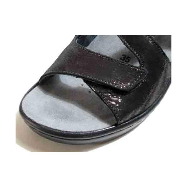 メフィスト MEPHISTO UMBERTA コンフォートバックバンドサンダル ダークグレー レディース・靴|nws|05