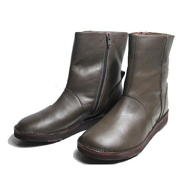 ビス vis プレーントゥ ショートブーツ レディース 靴|nws|04
