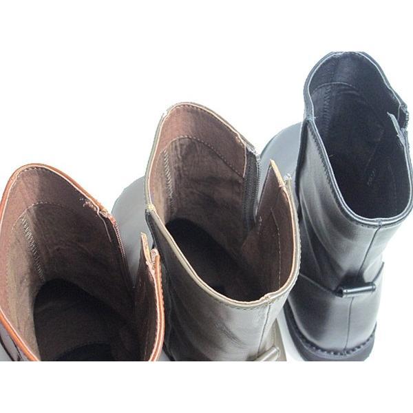 ビス vis プレーントゥ ショートブーツ レディース 靴|nws|08