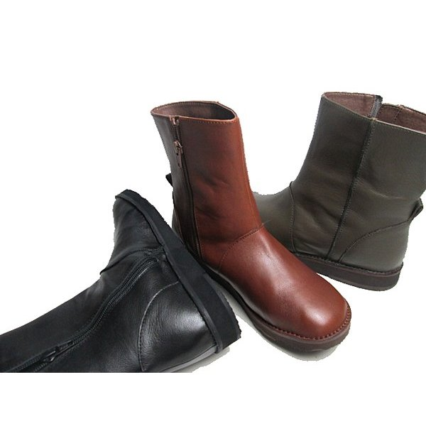 ビス vis プレーントゥ ショートブーツ レディース 靴|nws|09