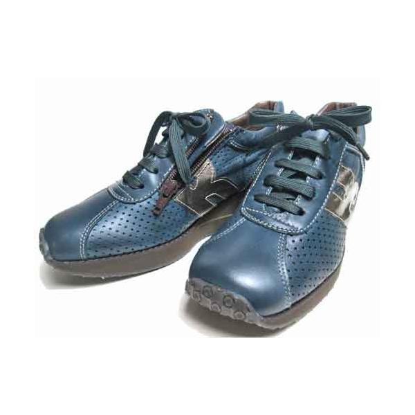 ビタノバ VITA NOVA ウェッジソールパンチングレザーレースアップシューズ レディース・靴|nws|04