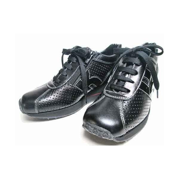 ビタノバ VITA NOVA ウェッジソールパンチングレザーレースアップシューズ レディース・靴|nws|05