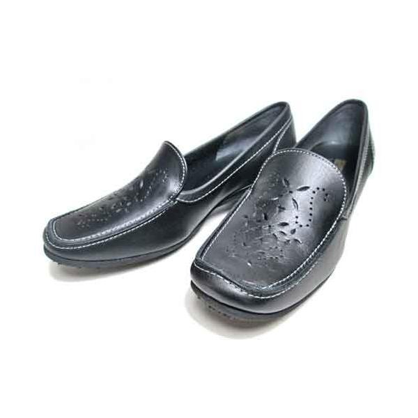 ビタノバ VITA NOVA パンチングデザインカジュアルシューズ レディース・靴