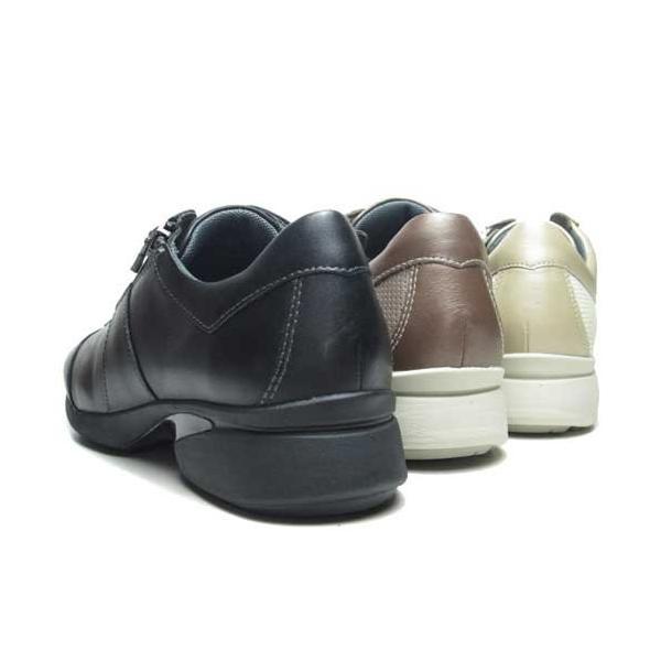 アシックス ペダラ asics Pedala レースアップシューズ ファスナー付き ワイズ 2E レディース 靴