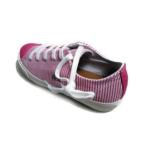 ラコステ LACOSTE フェアバーン W6 キャンバススニーカー ピンク レディース 靴|nws|03